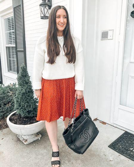 Love this look of paring a sweater over a dress for Spring   http://liketk.it/3bEkv @liketoknow.it #liketkit #LTKsalealert #LTKunder50