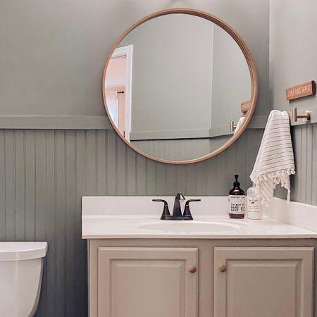 Powder Room Refresh Decor and Tooks http://liketk.it/361k7 #liketkit @liketoknow.it #LTKhome #StayHomeWithLTK