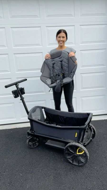 The ultimate wagon for your baby/ toddler/ kids! Wroth every single penny. I wrote a blog post going into more detail but it's back in stock and absolutely amazing!!   Wagon, cruiser, veer, stroller, wonderfold   #LTKGiftGuide #LTKHoliday #LTKbaby