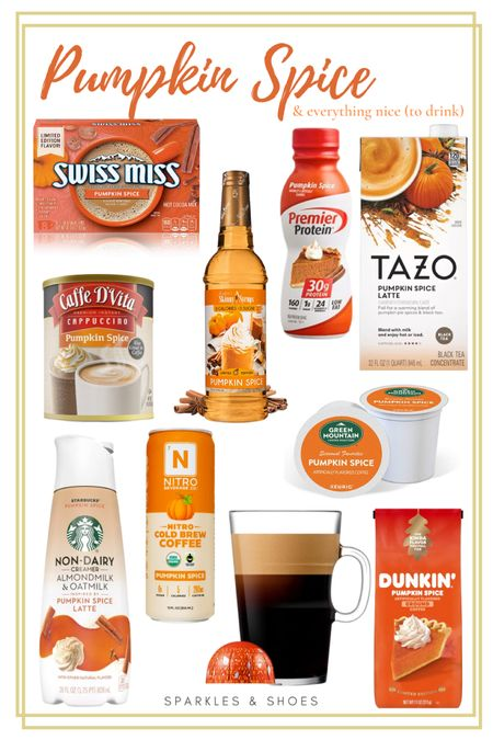 #PumpkinSpice season is officially upon us and here are the top finds from #Amazon #Target and #Walmart to help you taste the season!   #LTKGiftGuide #LTKunder50 #LTKSeasonal