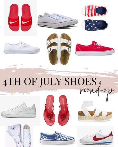 4th of July is almost here! So I decided to round up some of my favorite shoes to celebrate the red, white and blue! http://liketk.it/3iP1l @liketoknow.it #liketkit