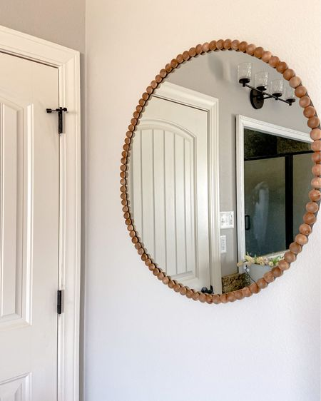 Cute mirror DIY http://liketk.it/39Tes #liketkit @liketoknow.it #LTKhome @liketoknow.it.home