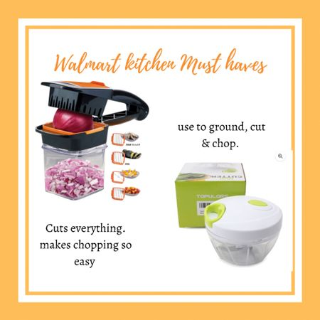 My two go to gadgets for the kitchen. They have helped me reduce prep times so much. Easy to wash and store. I use both almost every single day. For cutting, chopping, making sauces, grinding meat, ginger garlic paste.   #LTKhome #LTKfit #LTKfamily