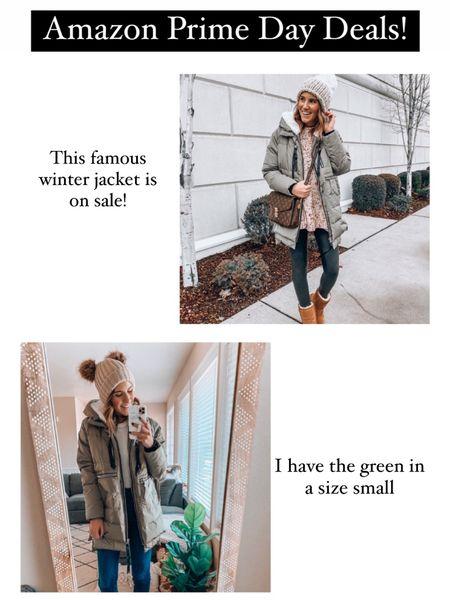 Amazon prime day deals✨ the famous Amazon coat! It's so warm!!! http://liketk.it/3i4BN @liketoknow.it #liketkit #LTKsalealert
