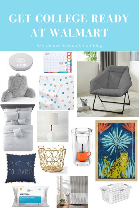 Get ready for campus at Walmart! I've compiled some of the great deals I've found at Walmart to get your college dorm room ready!   #walmart #walmartfinds #dorm #dormdecor #dormroom #college #campus #collegesupplies #residencehall #backtocampus #collegefinds #dormroomfinds   #LTKunder50 #LTKSeasonal #LTKunder100