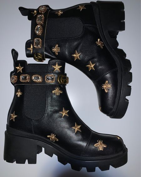 i recommend sizing up, i am normally a women's 8 and sized up to a 9! (it's better to have room in boots than for it to be too snug!) Also the website can look confusing, just be sure to click the one you want to order! #gucci #dupes #gucciboots #dhgate #fashion #designer #style http://liketk.it/35vUz #liketkit @liketoknow.it