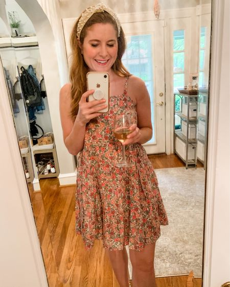 This little floral dress is perfect for a fancy Friday night! Dress it up or down, you choose! http://liketk.it/3fOsQ #liketkit @liketoknow.it