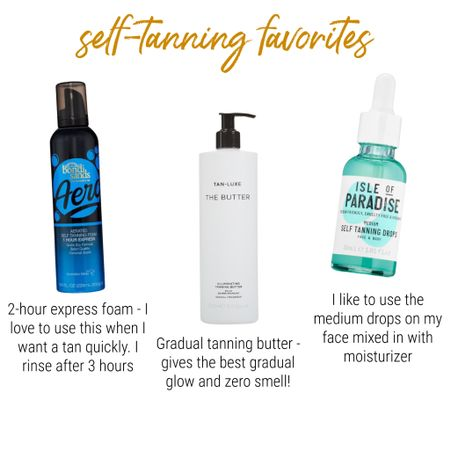 All of my favorite products for self tanning! http://liketk.it/3eVXm #liketkit @liketoknow.it