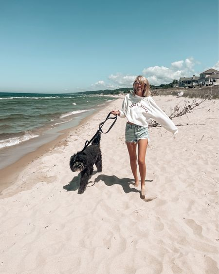 There's just nothing like a long walk on the beach, and taking some time to paws and reflect 🐾🏖  Ok for science, when you go to the beach, are you Team Swimming, Team Beachwalks, or Team Lounge?  I'm Team Beachwalks 4 Lyfe 👊🏻   http://liketk.it/3hJC6 #liketkit @liketoknow.it #LTKtravel