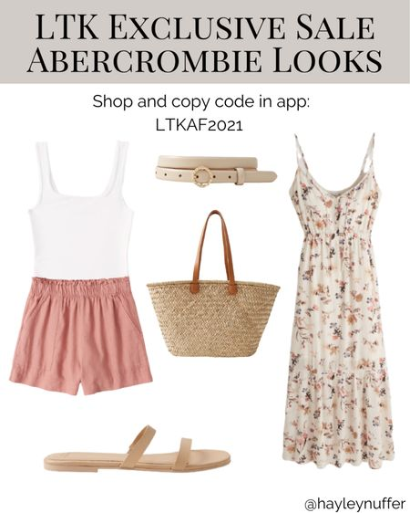 Abercrombie has some really cute things out for summer! Sad I can't do a try on right now or I would be ordering a bunch of things! 😍 I've heard great things about their bodysuits!    #LTKstyletip #LTKsalealert #LTKunder100