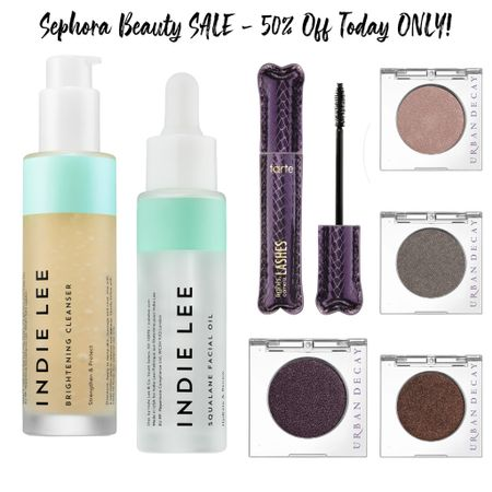 Sephora is having a huge sale with so many beauty goodies that are HALF OFF TODAY ONLY!! This brightening cleanser is amazing. I ordered myself another! There are so many beautiful shades of eyeshadow and one of my favorite mascaras I've used for years!   #LTKbeauty #LTKunder50 #LTKsalealert