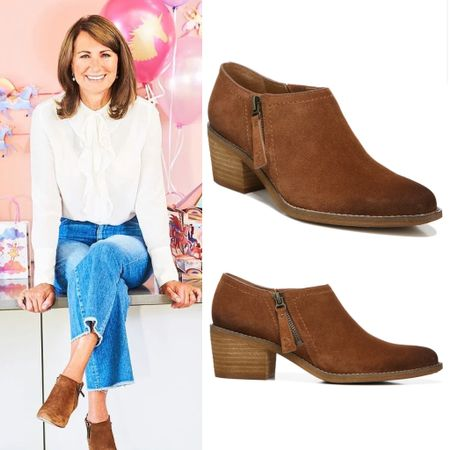 Carole Middleton inspired ankle booties #under100 #fall #camel #tan #shooties #boots #shoes   #LTKstyletip #LTKeurope #LTKshoecrush