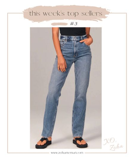 Abercrombie 90s high rise jeans   #LTKstyletip