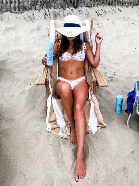Peach Print Bikini 🍑   #LTKunder50 #LTKswim #LTKunder100