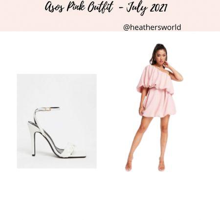 ASOS Pink Outfit   #lktit #asos #styling #outfitstyling #dress #heels   #LTKunder100 #LTKstyletip #LTKunder50