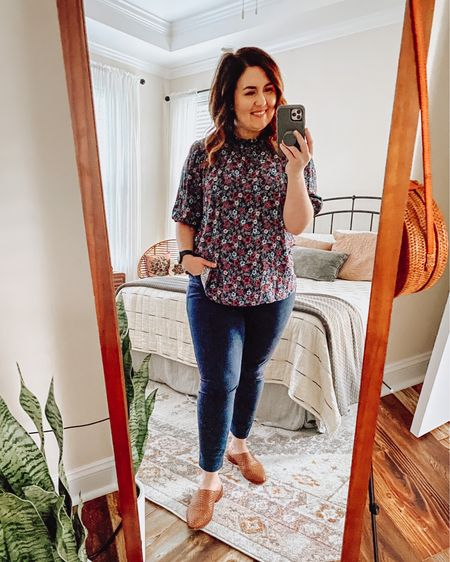 Love this for a simple work outfit.  Added a carding after I took this picture and linked that as well.  #LTKfit #LTKSeasonal
