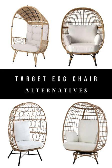 Target egg chair alternatives. Cheap egg chairs!   #LTKhome #LTKsalealert #LTKGiftGuide