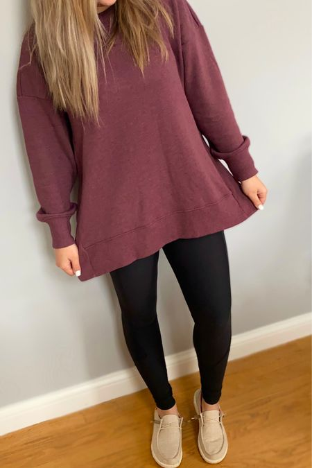 I am obsessed with oversized sweatshirts! On sale now $25! You can instantly shop my looks by following me on the LIKEtoKNOW.it shopping app #LTKsalealert #LTKstyletip #LTKunder50 @liketoknow.it.family @liketoknow.it.home http://liketk.it/357LV #liketkit @liketoknow.it
