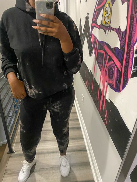 Check out what I got on my recent BOOHOO haul. This tie dye loungewear set is my favorite!   #LTKFall #StayHomeWithLTK #LTKunder50