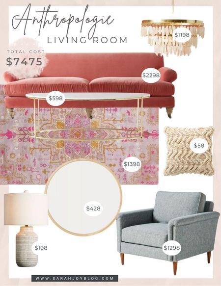 Anthropologie living room design     #LTKstyletip #LTKhome