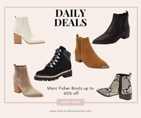 Marc Fisher booties on sale!   #LTKstyletip #LTKshoecrush #LTKsalealert