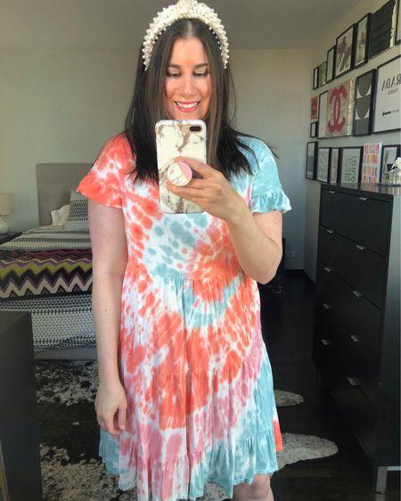 Tie Dye Dress $26❤️// http://liketk.it/3d1o4 #liketkit @liketoknow.it