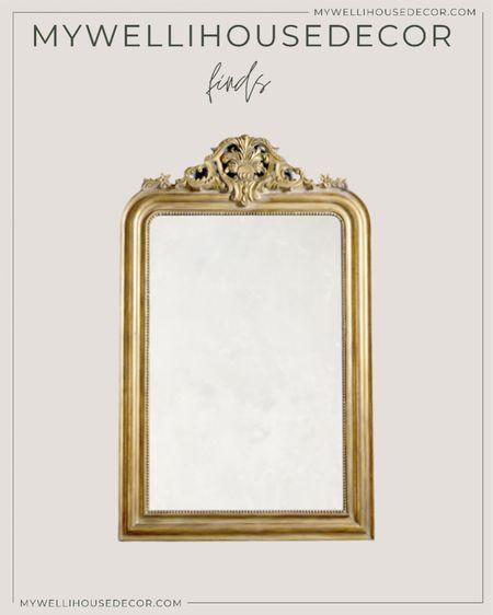 Beautiful ornate brass mirror   #LTKSale #LTKsalealert #LTKhome