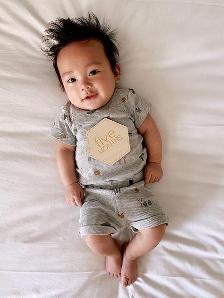 Cutest baby Noah is 5 month old!    #LTKbaby #LTKfamily #LTKsalealert