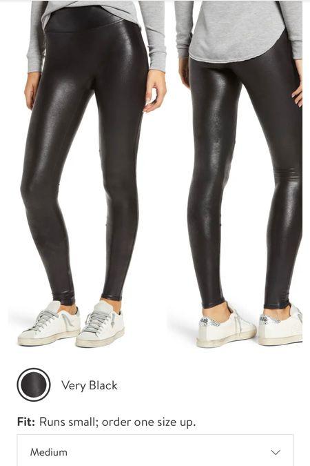 Top Nordstrom sale pick - spanx leggings   #LTKsalealert #LTKunder100 #LTKcurves