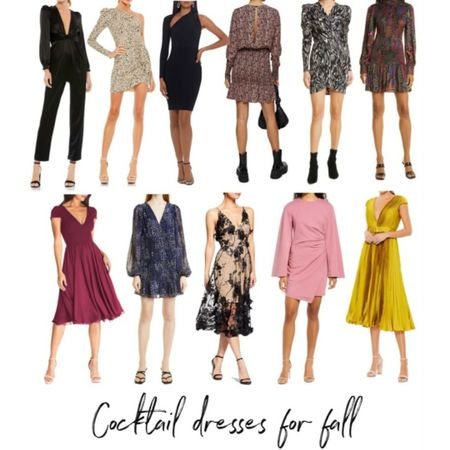 Fall Cocktail Dresses, Fall Dresses, Fall Party Dress, #LTKSeasonal #LTKstyletip http://liketk.it/3oepF @liketoknow.it #liketkit