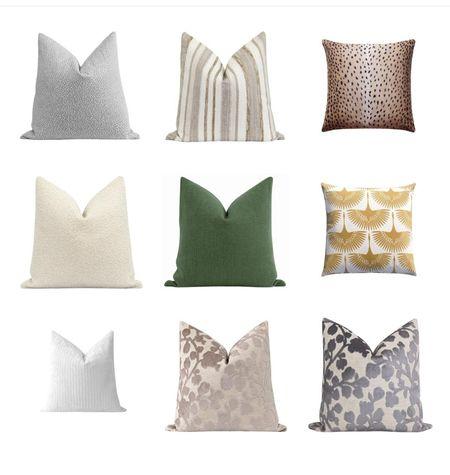 Beautiful pillow finds! Happy shopping   #LTKHoliday #LTKhome #LTKSeasonal