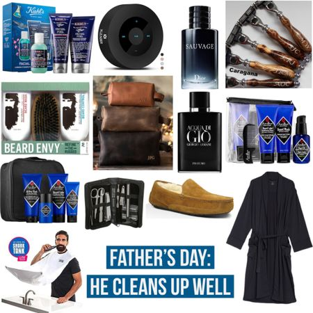 Father's Day: He Cleans Up Well 🧼   #fathersday #skincare #selfcare #ilovedad #father #grooming #giftguide #giftsforhim #wfh #workfromhome #amazon #amazonfinds #shower #bathtime #dior #cologne #sephora #ulta #beardenvy #beard #beardcare #jackblack #kiehls #doppkit #etsy #nordstromrack #nordstrom #personalization #ugg #slippers #robe #LTKmens #LTKDay #LTKunder100 @liketoknow.it #liketkit http://liketk.it/2Q0ws
