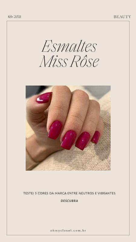Miss Rôse swatches on the blog!   #LTKbrasil #LTKbeauty #StayHomeWithLTK