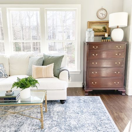 It's been cold today but it's been sunny. I feel like I can tackle anything when the sun is shining. How about you? #ltkseasonal #competition  Target finds, spring, spring decor, Amazon finds, Easter, living room, coffee table  #StayHomeWithLTK #LTKSeasonal #LTKhome