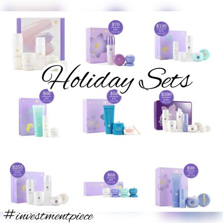 Give the gift of amazing skincare- like these holiday sets from @tatcha. Choose what they need- firming, deep cleaning, lips, everyone in your life will love them! #investmentpiece   #LTKbeauty #LTKGiftGuide #LTKunder100