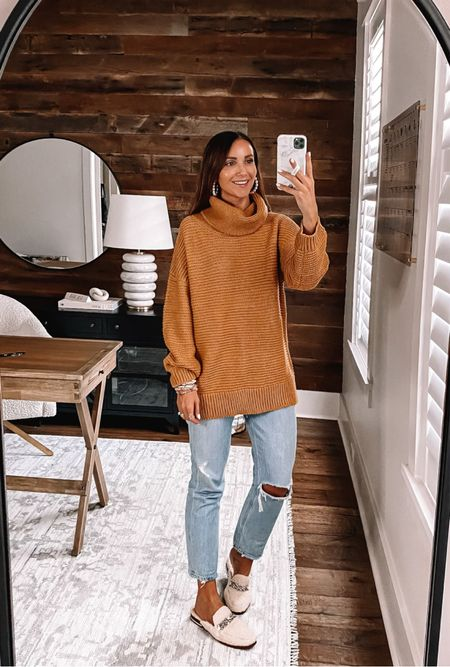 Amazon sweater size medium, fall outfit #anna_brstyle