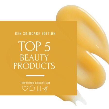 REN SKINCARE TOP 5 FAVORITES Skincare, body care, makeup primer #siliconefree #cleanbeauty #veganbeauty #LTKbeauty #LTKunder50 #liketkit http://liketk.it/3nVlH @liketoknow.it