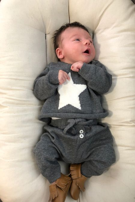 Love this little 2 piece set for babies. It's gender neutral and so cute!   Nordstrom, Nordstrom baby, baby clothes, baby boy outfit  #LTKbaby #LTKsalealert #LTKunder50