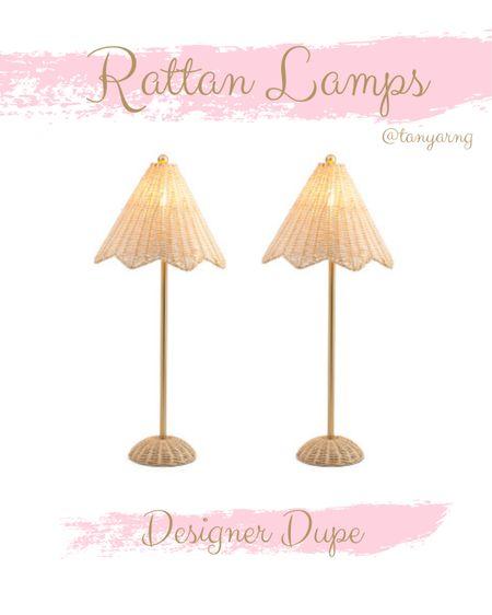 Rattan lamps / designer dupe http://liketk.it/3fEG9 #liketkit @liketoknow.it #LTKunder100 #LTKhome @liketoknow.it.home