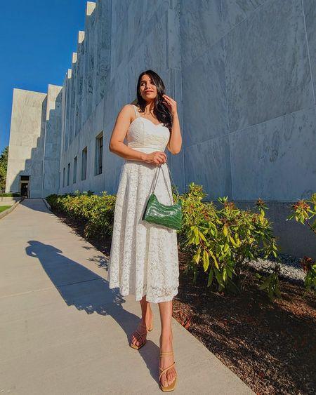White dress  http://liketk.it/3kNq7 @liketoknow.it #liketkit #LTKDay #LTKsalealert #LTKstyletip #LTKunder50 #LTKunder100 #LTKshoecrush #whitedress #summerdress #whitesummerdress #mididress #prettydress #ltksummer #ltksummerstyle