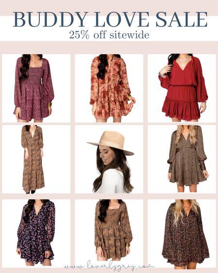 Buddy love sale alert! Rounding up all my favorite for fall! So many good family photo dresses for mom.   #LTKSale #LTKunder100 #LTKstyletip