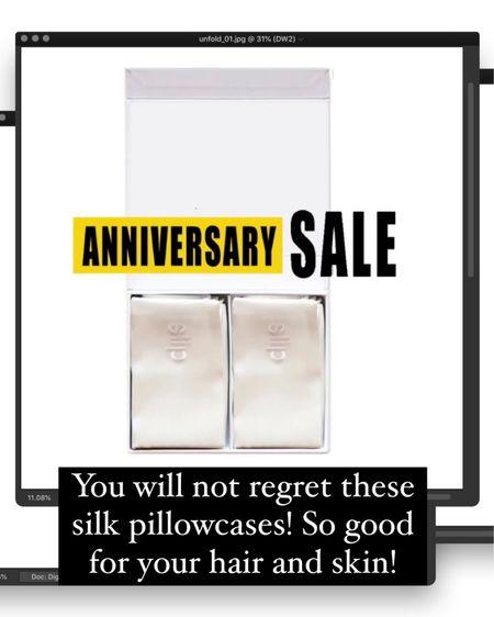Nordstrom Anniversary Sale. http://liketk.it/3jSjA @liketoknow.it #liketkit #LTKunder100 #LTKhome #LTKbeauty silk pillowcases,