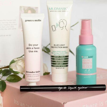 Beauty box from Roccabox Beauty Box #liketoknowit #beauty