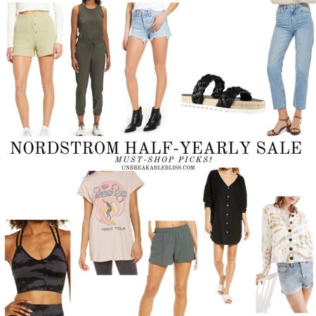 The Nordstrom Half-Yearly Sale is happening now and there's SO many cute pieces to pick up for summer! @liketoknow.it #liketkit #LTKsalealert #LTKunder100 #LTKstyletip http://liketk.it/3gdD0