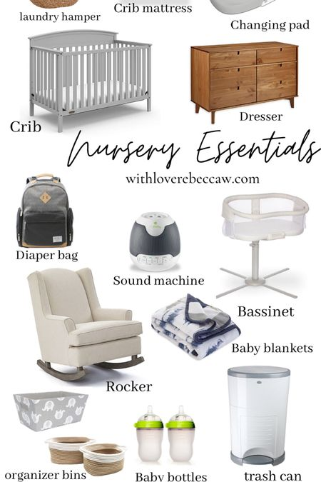 http://liketk.it/38Pou #liketkit @liketoknow.it Nursery Essentials for the first time moms! Every thing you need in your nursery/baby room!
