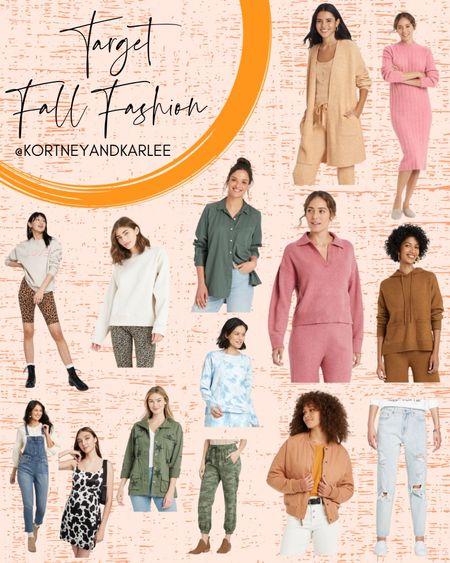Target Fall Fashion!  Target fashion | target fall fashion | fall fashion | target fall favorites | fall fashion edit | fashion fall edit | loungewear from target | comfy loungewear | affordable loungewear | target style | target actually | fall dress | target fall style |target dresses | target dress | target tee | target shorts | Kortney and Karlee | #kortneyandkarlee #LTKunder50 #LTKunder100 #LTKsalealert #LTKstyletip #LTKSeasonal #LTKtravel #LTKshoecrush @liketoknow.it #liketkit