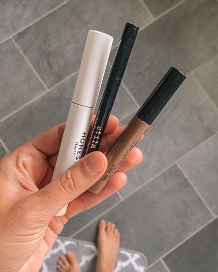 Honest mascara on sale / stila liquid eyeliner / nyx brow gel  #LTKbeauty #LTKsalealert #LTKstyletip