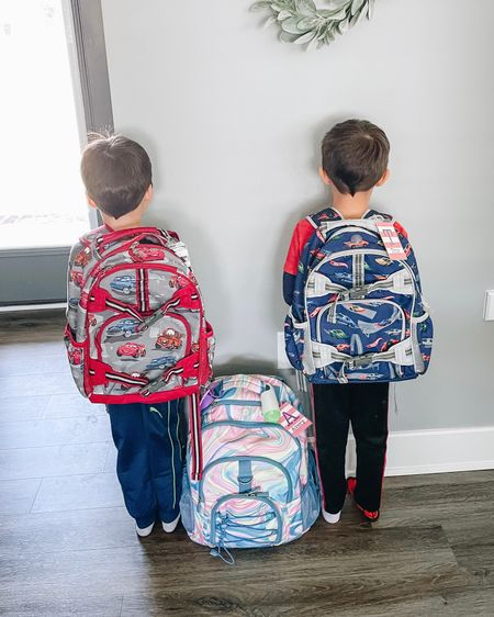 Ok y'all... I LOVE Pottery Barn Kids backpacks. I'm a little frustrated they are advertising 30-50% off backpacks + fr e e shipping then only giving fr e e shipping on a select few of the backpacks. I think that's wrong. I also chatted CS yesterday and they said to call and they would honor it, but when my SIL called (and talked for 40 min) they refused to honor it except on select backpacks.   However, this was also my most popular post yesterday because the prices are good and the backpacks are excellent. We use a PB Teen backpack for A's diaper bag and then both boys have a small for preschool. It will last through next year for sure, and maybe even 1st grade. The large would def work for older kids.   If you're still reading lmk!! And you can check out the s@le for yourself below.  #pbk #potterybarnkids #f2fd0309 #kidsbackpack #backpacksale #LTKkids #LTKfamily http://liketk.it/3a6AA #liketkit @liketoknow.it