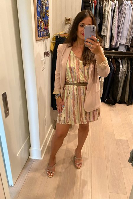 Easy summer look: a sequin dress and a boyfriend blazer #boyfriendblazer #sequindress #sandals #liketkit http://liketk.it/3k4x0 @liketoknow.it #LTKstyletip #LTKshoecrush #LTKwedding Shop your screenshot of this pic with the LIKEtoKNOW.it shopping app Shop my daily looks by following me on the LIKEtoKNOW.it shopping app Download the LIKEtoKNOW.it shopping app to shop this pic via screenshot You can instantly shop my looks by following me on the LIKEtoKNOW.it shopping app