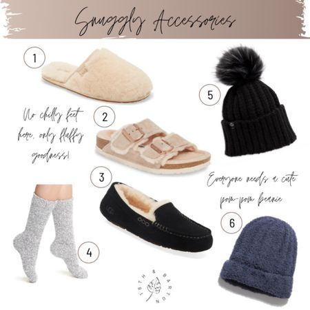 Must-have warm, cozy loungewear from Nordstrom: accessories and slippers edition   http://liketk.it/2ZJ1t #liketkit @liketoknow.it